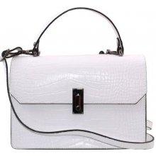 13acbab574a1 Genuine leather dámska kožená kabelka do ruky čierne Izabela nero