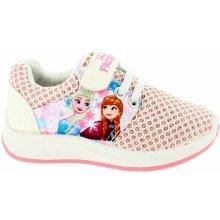 Disney by Arnetta Dievčenské tenisky Frozen ružové 00baf21b7c3
