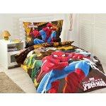Jerry Fabrics obliečky Spiderman HERO bavlna 140x200 70x90