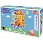 PlayBIG Bloxx Peppa Pig rodinka v domčeku
