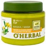 O'Herbal maska pre zväčšenie objemu s arnikovým extraktom 500 ml