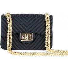 e288c5a74df8 Zazza kabelka v čiernej farbe Nathalie