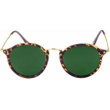 Urban Classics Sunglasses Spy havanna/green