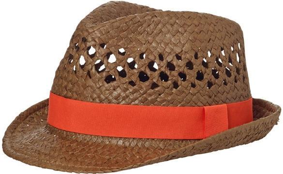 fb83eb52c Letní klobouk děrovaný MB6598 Nugátová / červená od 7,04 € - Heureka.sk
