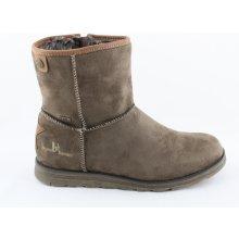 3a5a8c5d25b48 Bruno Banani dámska zimná obuv s kožuškom hnedá
