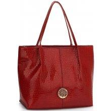 c4b60774a2 luxusná lakovaná kabelka Juliane červená