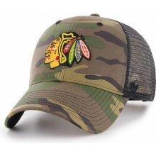 8998b5455 47 Brand MVP Trucker Branson NHL Chicago Blackhawks Camo