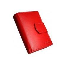 124b245c86 Kožená dámska peňaženka AD 10 217 červená