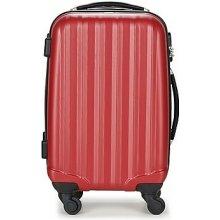 David Jones Pevné cestovné kufre CHAUVETTA 36L Červená