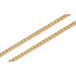 963f493cf iZlato Zlatá dvojfarebná retiazka Veneziana Design IZ15033 od 379,99 € -  Heureka.sk