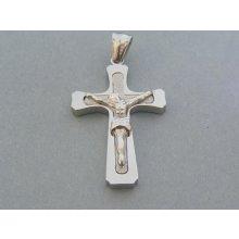 f90314ef6 MARM Design Prívesok ch. oceľ kríž DIKO1047 316L