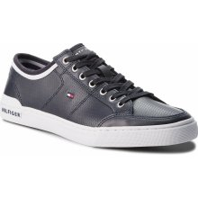 Sneakersy TOMMY HILFIGER Core Corporate Leather Sneaker FM0FM01497 Midnight  403 2f85248c815