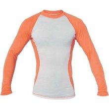 66befd049 Blue Fly Termo PRO dlhý rukáv Biela / Oranžová