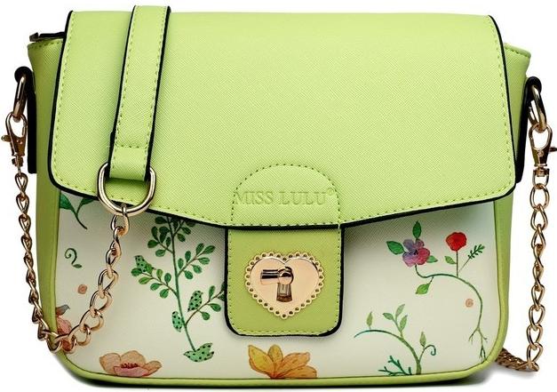 115065e333 kabelka kvetinová satchel crossbody zelená alternatívy - Heureka.sk