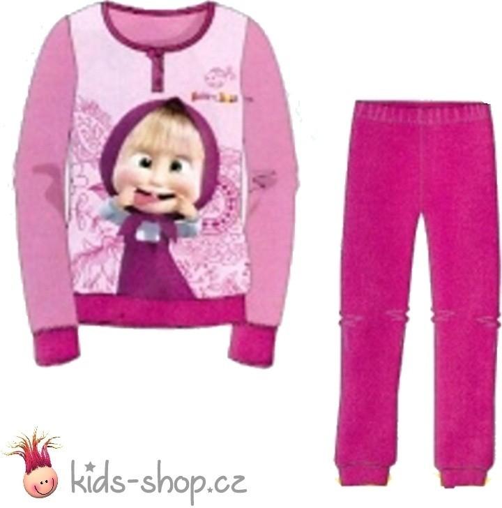 702c879faa801 Pyžamko a košieľka Setino dievčenské bavlnené pyžamo Máša a medveď ...