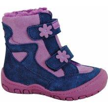 50ee0dc739 Protetika Dievčenské zimné topánky Mira modro-ružové