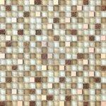 Premium Mosaic Mozaika mix béžová sklo/kov 1,5x1,5 cm