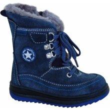 2302f5a7d4d0 Protetika Chlapčenské zimné topánky Bory modré