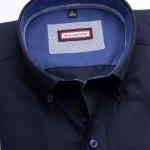 Pánska košele Classic v modré farbe 5537