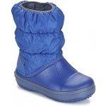 Crocs Obuv do snehu WINTER PUFF BOOT KIDS Blue