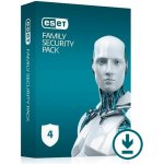 ESET Family Security Pack 4 lic. 18 mes.
