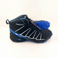Pánska trailová obuv 3644M5 Čierna / Modrá