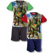 Pyžamo Ninja Korytnačky červené a zelené zelené