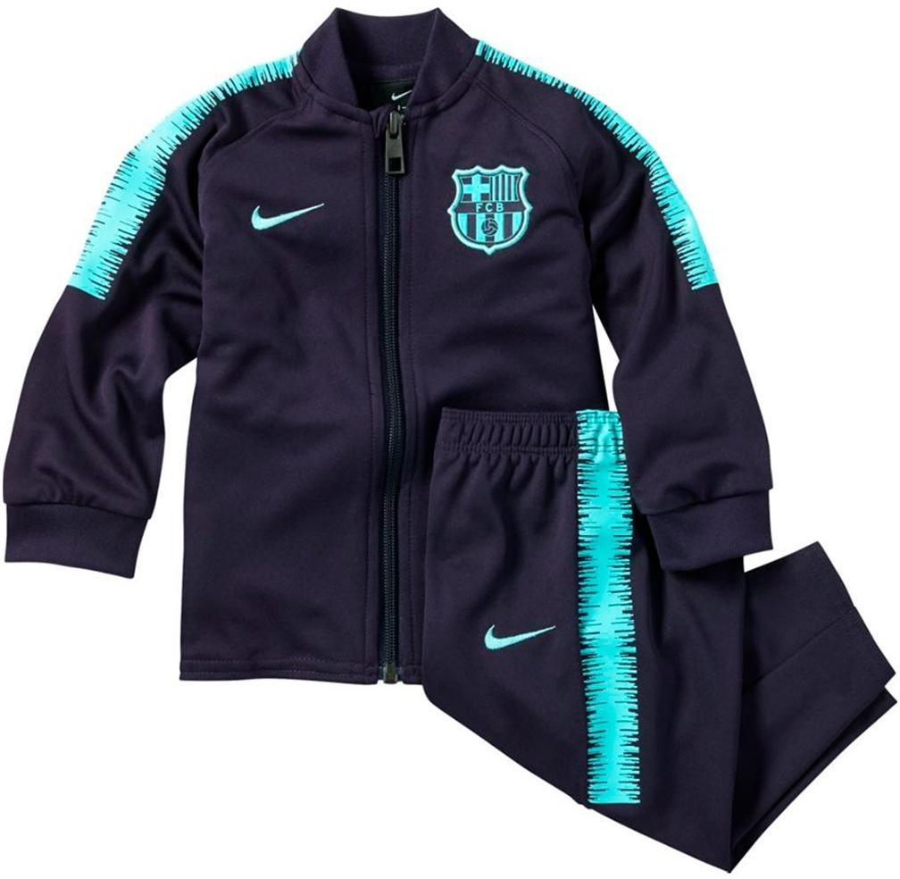 Futbalový dres Nike FC Barcelona súprava bunda nohavice detská 2018 ... 7fbb2a3e800
