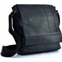 Bevers SD060-1 pánska stredná listová taška cez rameno Černá 22fb1009ba3
