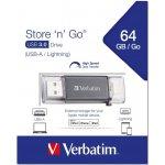 Verbatim iSTORE' 'n' GO Lightning 64GB 49301