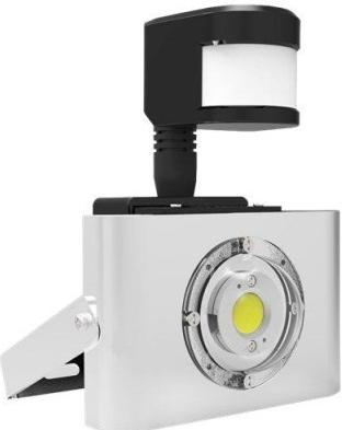 64b75c736 Recenzie 10W LED reflektor VANKELED profi šošovka + senzor pohybu,  neutrálna biela VANKELED 51787 - Heureka.sk