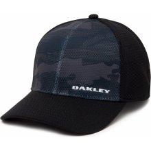 OAKLEY šiltovka SILICONE BARK TRUCKER PRINT 2.0 black 5728c47349f