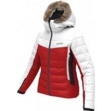 513216db66c5 Colmar bunda Z LADIES JACKET + REAL FUR white and red