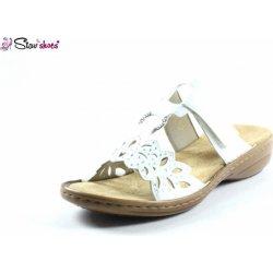 10c73f278e53 Rieker dámske sandále biele od 27