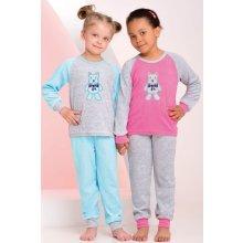 Detské froté pyžamo Taro - našitý obrázok