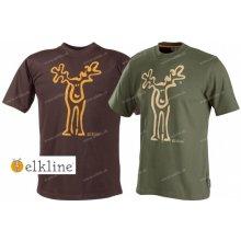 Elkline Rudolf pánske tričko