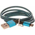 CellFish PLUSBKABELBLUE USB/micro USB, 1m, modrý