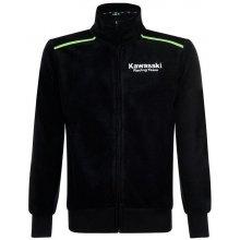 KAWASAKI mikina na zips KRT SWEATSHIRT black   green 992c2e913b