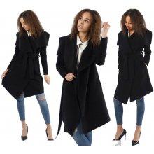 64022dce8bec Waterfall Maxi P02 Fashionweek módne dámsky kabát černá