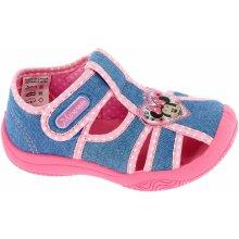 f4c562b1dc3d Disney by Arnetta Dievčenské sandále Minnie modré