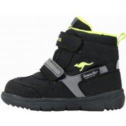 KangaROOS detská zimná členková obuv Winni čierna alternatívy ... d9840c9be1c