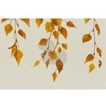 Pilch Dekor Salix hnedá 30x45 cm, mat DBRIZABH