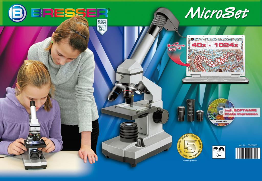 Bresser junior biotar set microscope bresser junior usb od u ac