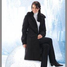 Dámský kabát čierna