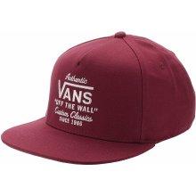 Vans Mn Wabash Snapback červené VN0A36I8TD2 c668b2a5c38
