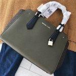 Michael Kors satchel kabelka olivová