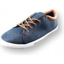 12988176c6f9 Štýlové pánske tenisky modrej jeans - DD344-13-NAVY