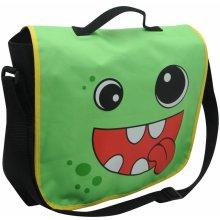 53 Star Monster Satchel zelená