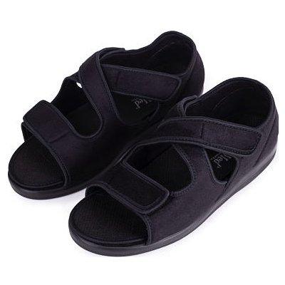 Zdravotná obväzová obuv otvorená so širokým otváraním
