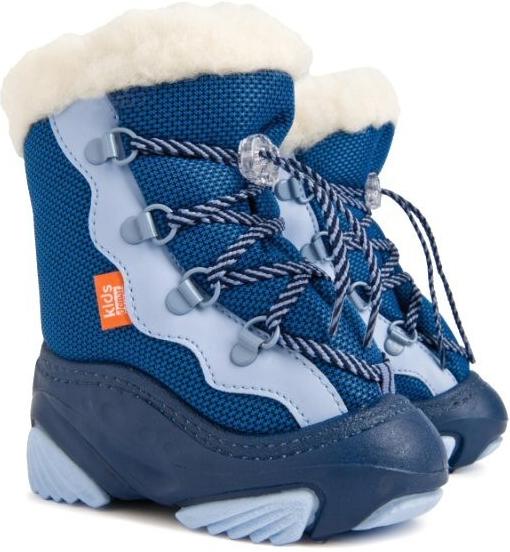 5a1017b6aa90 DEMAR Chlapčenské snehule Snow Mar C modré - Zoznamtovaru.sk